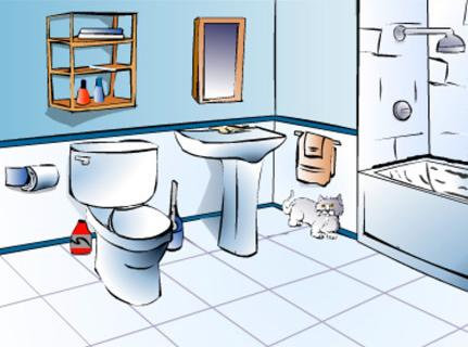 Как выбрать полы в ванную комнату
