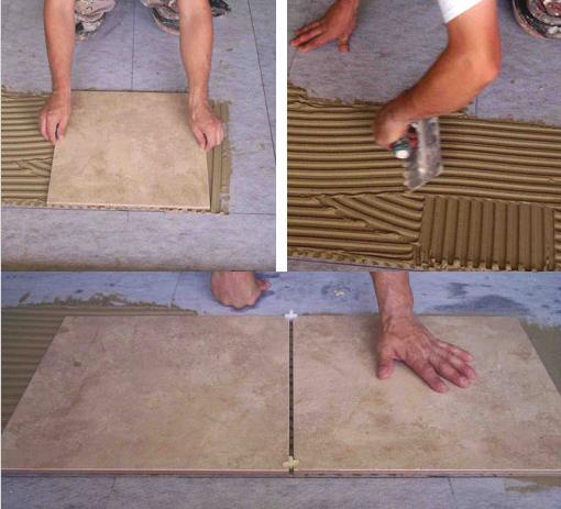 Кафельная плитка укладка своими руками