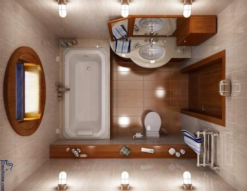 Совмещенная ванна и санузел