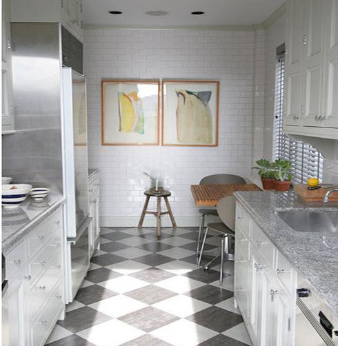 Дизайн маленькой кухни в хрущевке с колонкой