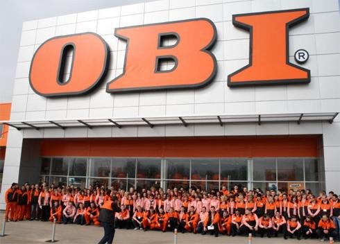 Магазины ОБИ в Москве