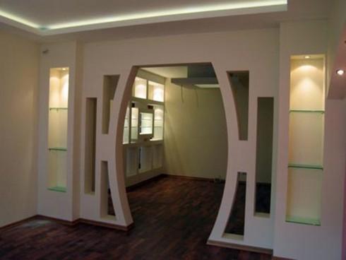 фото арки из гипсокартона (18)