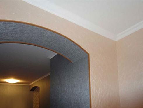 Фото арок из гипсокартона своими руками