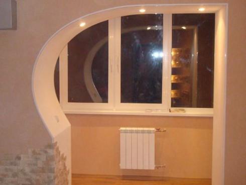 фото арки из гипсокартона (11)