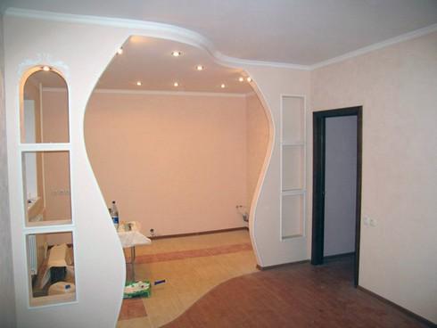 фото арки из гипсокартона (10)