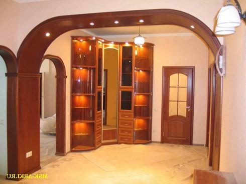 фото арки из гипсокартона (9)