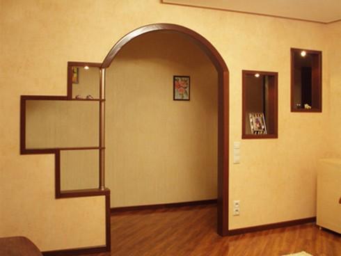 фото арки из гипсокартона (8)