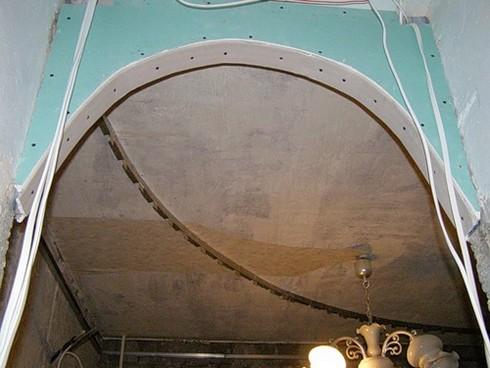 фото арки из гипсокартона (4)