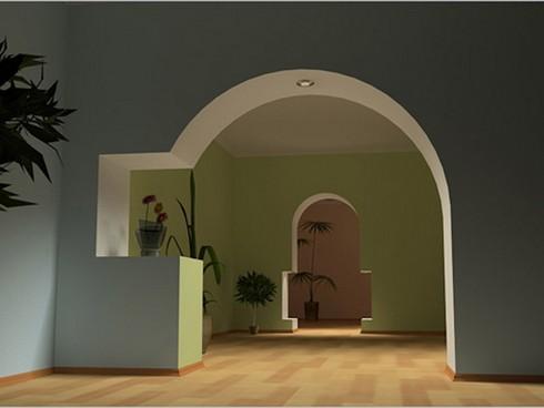 фото арки из гипсокартона (1)