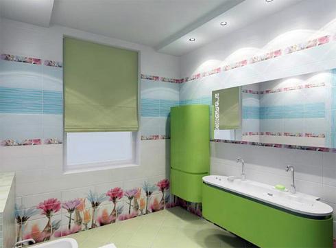 на фото гипсокартонные конструкции в ванной
