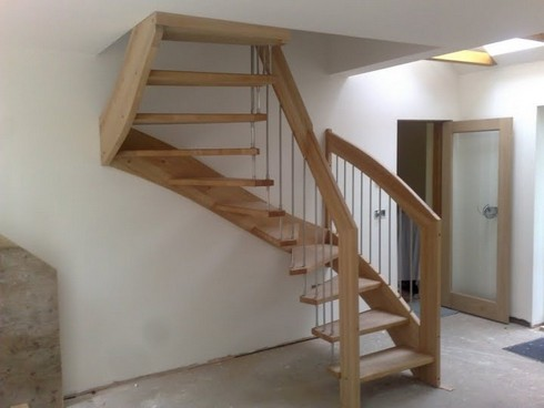Своими руками для дачи лестница