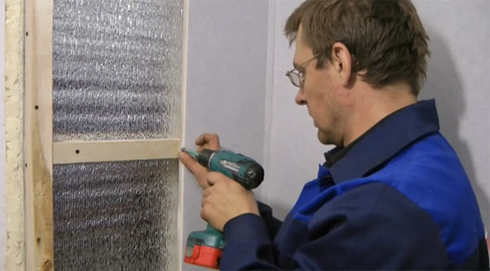 монтаж пластиковых панелей на стены