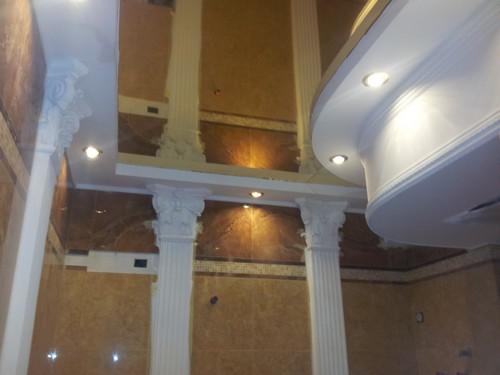 натяжные 3д потолки
