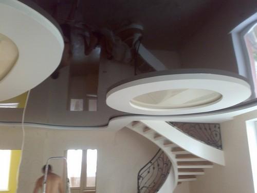 натяжные потолки 3d фото
