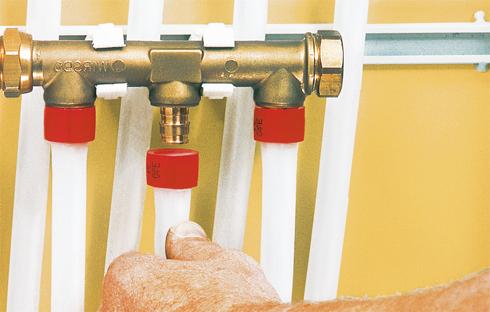 подключаем водяное напольное отопление