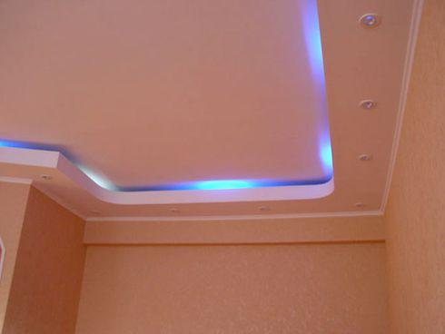 дизайн потолков с подсветкой