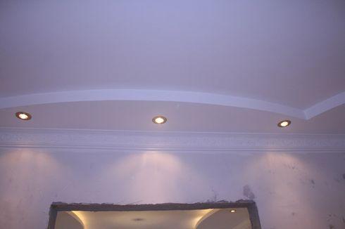 подсветка потолка из гипсокартона
