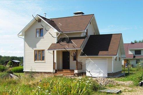 Брускар. Строительство деревянных домов. Дома из клееного ...