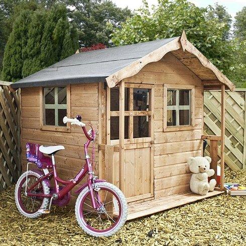 Дом для ребенка своими руками из дерева