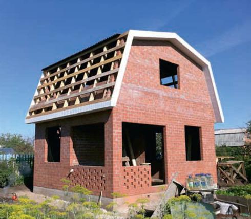 Как самому построить кирпичный дом своими руками пошаговая инструкция