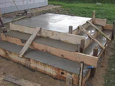 Залить. бетон своими руками