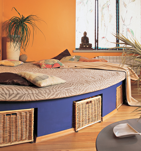 Как из кровати сделать подиум