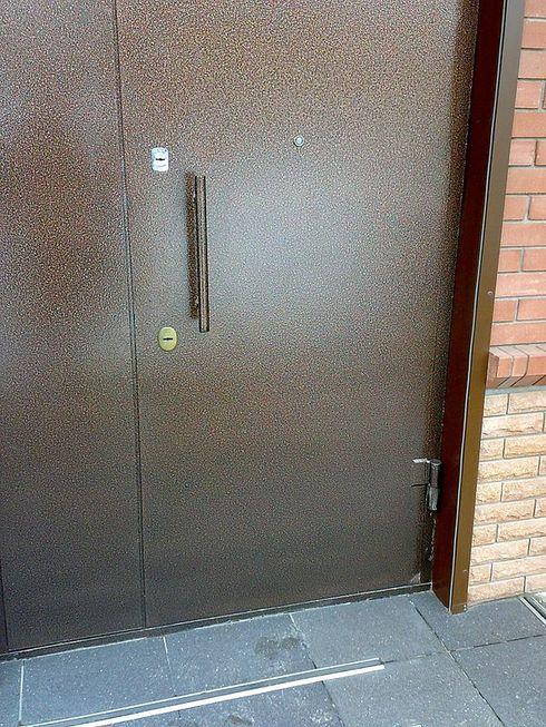 Металлические двери своими руками изготовление