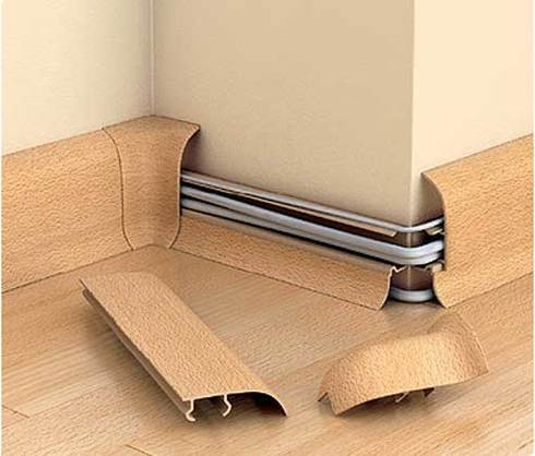 Как прикрутить плинтуса к бетонной стене