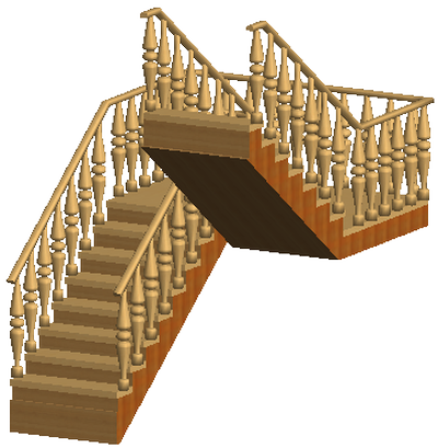 П-образная лестница на второй этаж своими руками 21