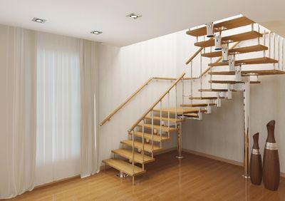 П-образная лестница на второй этаж своими руками 99