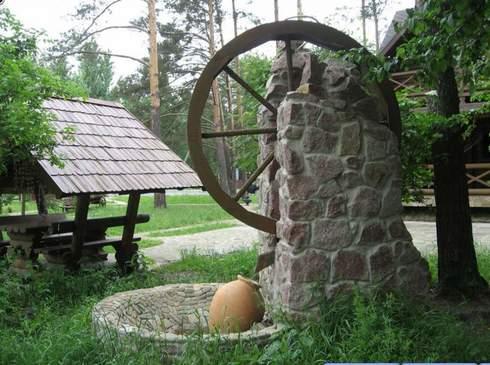 водяная мельница.