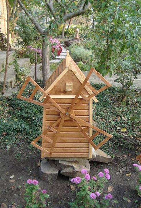 Чертежи мельницы для сада своими руками