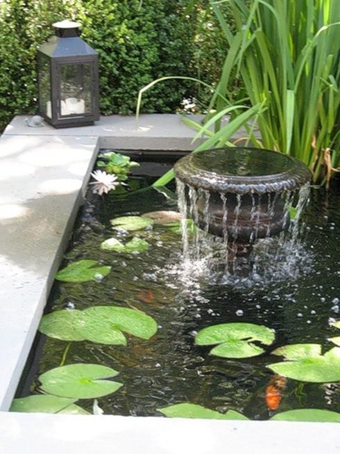 Установка фонтана своими руками