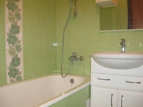 Дизайн ванной комнаты маленького
