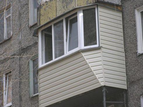 Наружная обшивка балкона запорожье - заказать, цены алмон.