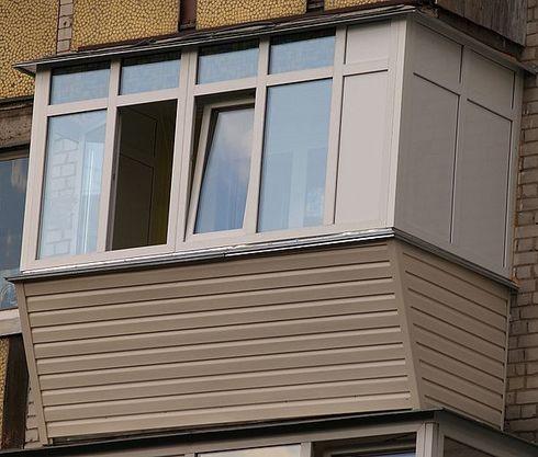 Отделка балкона сайдингом внутри и снаружи: видео своими рук.