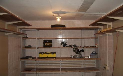 Фото отделки гаража внутри своими руками
