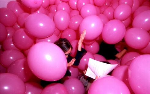 Цветок из шаров своими руками просто фото 785