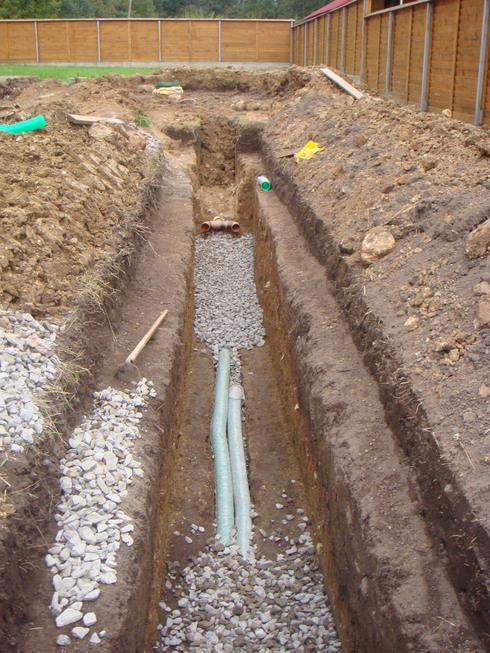 Как сделать дренажную трубу из канализационной 794