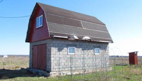 Быстровозводимый гараж из металлоконструкций