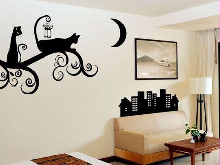 Трафареты для декора стен своими руками распечатать фото 156