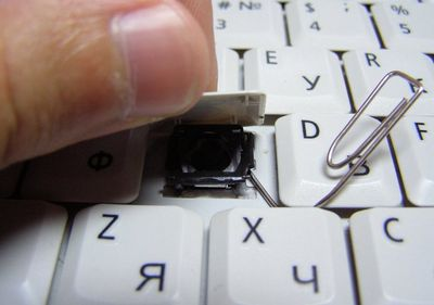 Как вставить кнопку на клавиатуре ноутбука Asus, Acer, Lenovo, HP