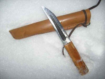 3 способа как сделать деревянную ручку для ножа