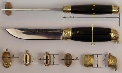 какделать ручки на ножи