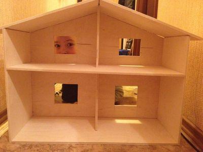 Как сделать кукольный дом из фанеры